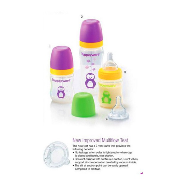 tupperware bpa free baby bottles with teat sale at numit online store. Black Bedroom Furniture Sets. Home Design Ideas