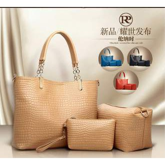 Renner Poetry (New Arrival) Fashion 3in1 Crocodile Handbag