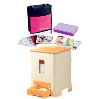 Tupperware Rice Dispenser 10.5kg + Membership worth RM 74.2