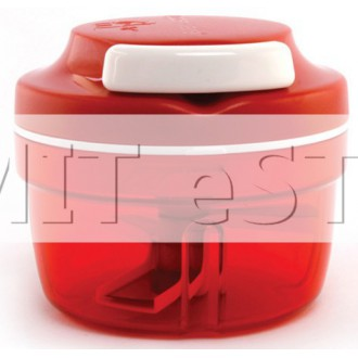 Tupperware Red Turbo Chopper