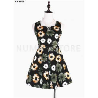 Pre-Order Quality Korean Flowers Dress
