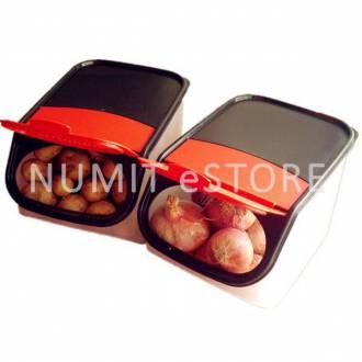 Tupperware Garlic-N-All-Keeper Box (2) 3.0L