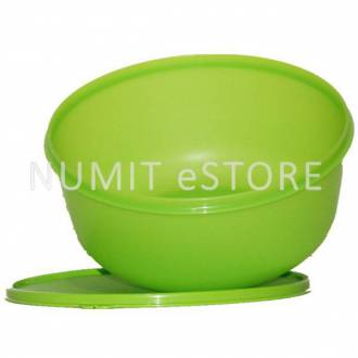 Tupperware Vegetables Salad Green Large Bowl