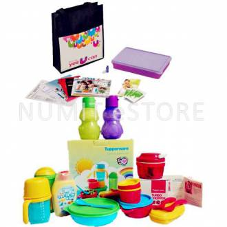 Tupperware Twinkle Sunshine Set with FREE Tupperware Membership worth RM74.20