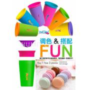 WOW CUPS (Buy 1 FREE 3 Macaroon) No Spill Water Drinking Cups
