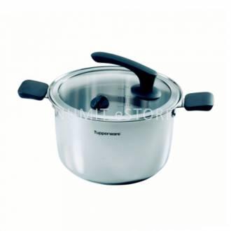 Tupperware Inspire Cookware Casserole Pot 3.7L Water Oil LESS