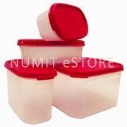 Red Modular Mate 4 Pieces Starter Set TUPPERWARE