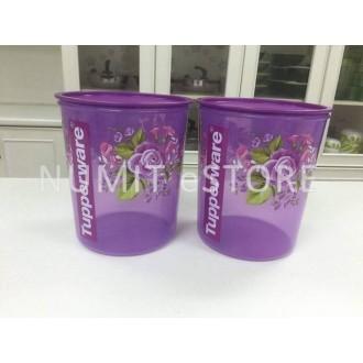 Tupperware Royal Rose Maxi Canister 2x5.5L