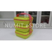 Tupperware Picnic Trio Lunch Box with Cariolier 3x1.6L each