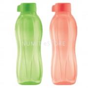 Tupperware Eco Bottle 2 x 500ml Peach Green