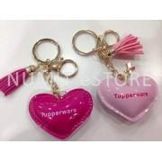 Tupperware LOVE keychains 2 pieces set