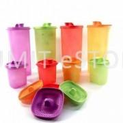 Tupperware Fridge Water Bottle 4x2L Set + 4xMini Milk Keeper +FREE 4 Strainers worth RM44.80