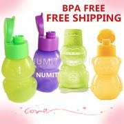 Tupperware Frog Penguin Dino Bear 4x350ml Eco Bottles Set