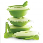 Tupperware Blossom Microwaveable Serveware Essential Set