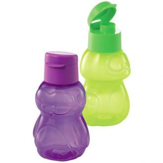 Tupperware Frog & Penguin Eco Bottles 350ml