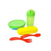 Tupperware Kid Feeding Bowl and Cup Set