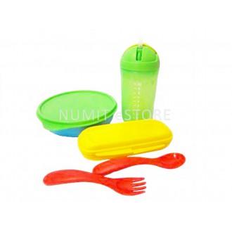 Tupperware Kid Feeding Bowl and Cup Set