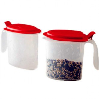 Tupperware Salt N Spice Set 2 x 500ml