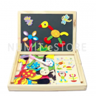 Educational Kid TOY Fantastic Wooden Magnetic Board