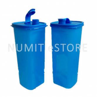 Big Blue Quencher 2L Fridge Water Bottle Tupperware