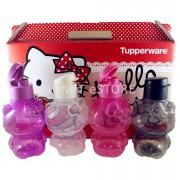 Tupperware Hello Kitty BPA FREE Limited Release Eco Bottles 4x425ml