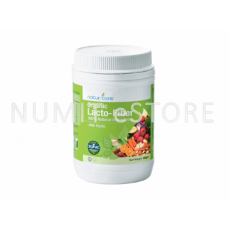 NaturCare Organic Lacto-Fiber 1X300gm BODY NATURAL CLEANSING 59 Nutrient Rich-ingredients