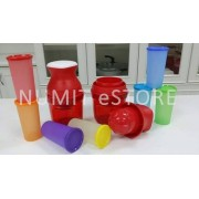 Tupperware JUIST X 2 with Rainbow fun juice set 7x175ml
