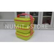 Tupperware Picnic Trio Lunch Box with Cariolier 3x1.6L each