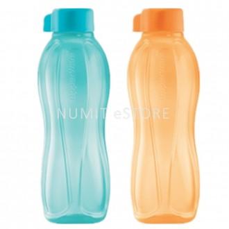 Tupperware Eco Bottle 2 x 500ml blue orange