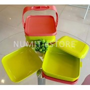 Tupperware Picnic Trio with Caliolier 3x1.6L with Serving Plates