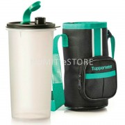 Tupperware Eco Bottle High Handolier (FREE SHIPPING) 1x1.5L - Sea Green Pouch (NUMIT)
